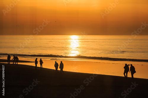 In de dag Noordzee Erholung am Meer