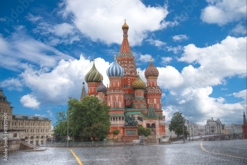 Foto op Canvas Moskou St. Basil's Cathedral