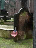 Trinity Church cemetery in Manhattan
