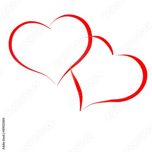 Gamesageddon Zeichnung Eines Küssenden Paares Unter Einem Herz Aus