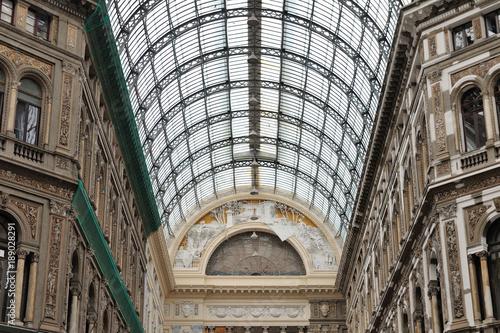 Aluminium Napels Napoli, Galleria Umberto I