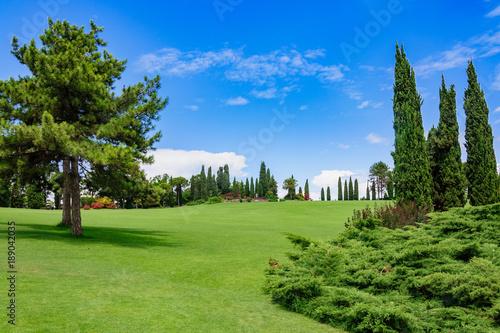 Fotobehang Pistache Sigurta Park, Włochy