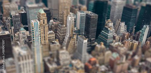 Foto Murales New York effet maquette