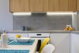 Detail of modern kitchen interior design - 189051289