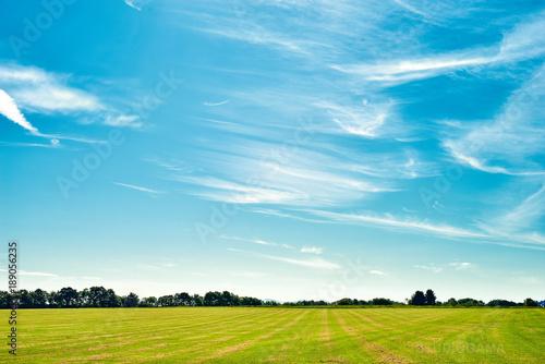 Poster Blauw sky