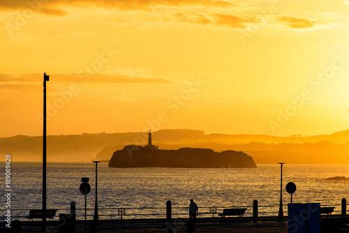 lever de soleil à Santander