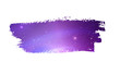 Grunge banner with violet space