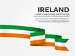 Ireland flag background - 189092631