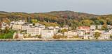 Sassnitz auf Rügen vom Meer aus gesehen - 189103242
