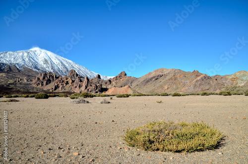 Keuken foto achterwand Canarische Eilanden Desert Landscape in Volcan Teide National Park