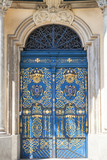University of Wroclaw, decorative door, Wroclaw, Poland.