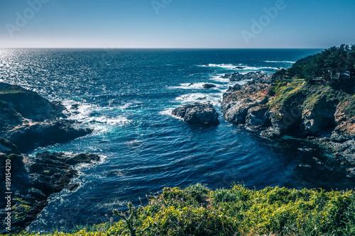 Foto op Canvas Blauwe jeans USA California pacific ocean coast shoreline