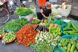 Cambodia, street market in Phnom Penh