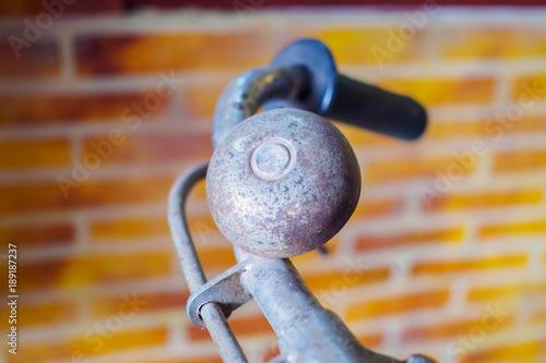 Fotobehang Fiets retro handlebar bicycle
