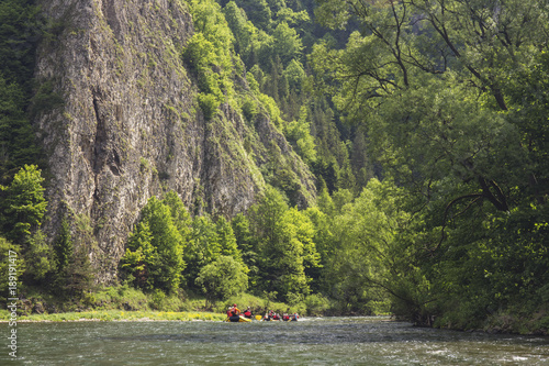 Foto op Canvas Pistache Pieniny Mountains - Poland Carpathians