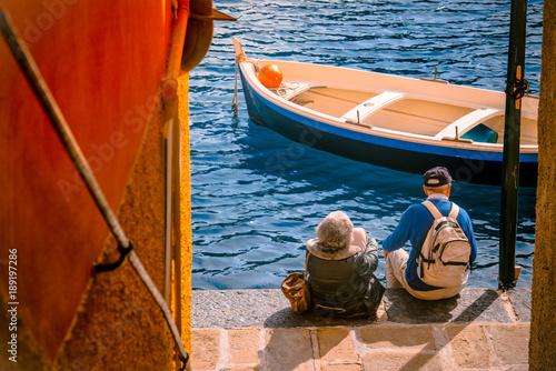 Foto op Plexiglas Liguria Tourists