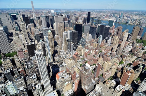 Foto op Aluminium New York beautiful view
