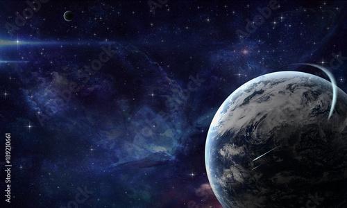 планета в космосе - 189210661