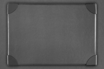 gray paper frame background