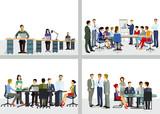 Zusammenarbeit im Unternehmen und Büro - 189216867