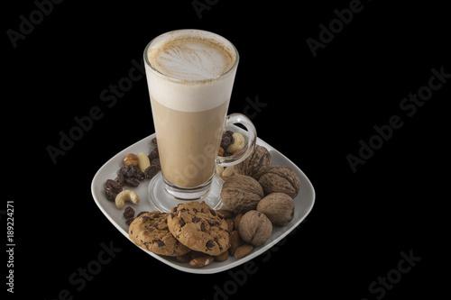 Fotobehang Chocolade Hot Beverage