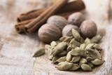 Cardamon, Nutmeg and Cinnamon - 189225683