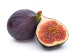 Fruits figs isolated on white background. - 189254831