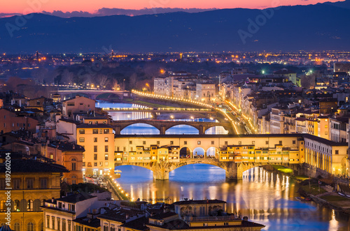 Fotobehang Florence Skyline of Florence, Italy