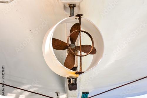 Keuken foto achterwand Schip Helix Propeller