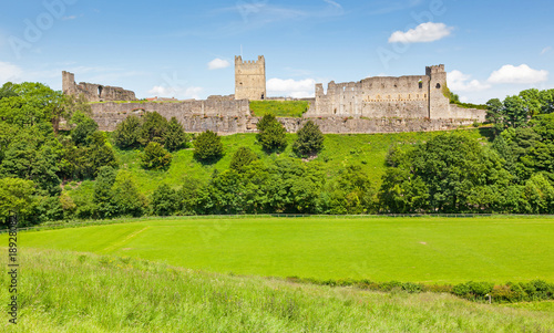Richmond Castle in Yorkshire, England