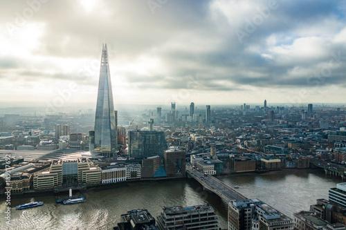 Staande foto London London winter