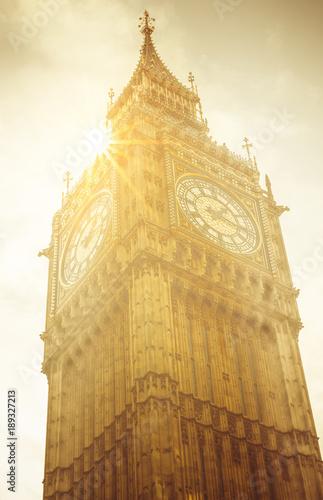Staande foto Londen London Big Ben