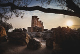 Sunset in the Valley of the Temples - Agrigento - Sicily - 189362670