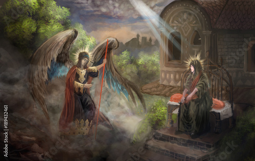 Illustration from Bible  © vukkostic