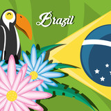 welcome to brazil design  - 189433220