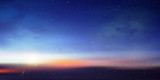 Fototapeta Kosmos - 空 惑星 宇宙 背景 © J BOY