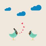 Enamoured bird2