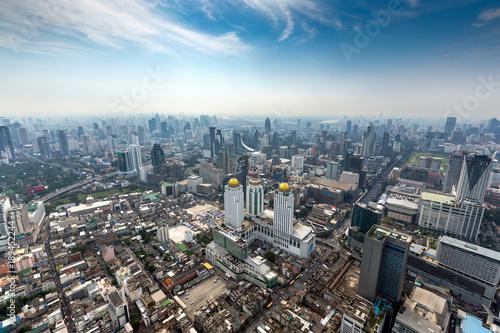 Foto op Aluminium Bangkok Aerial landscape of Bangkok