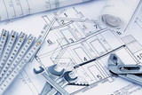 blueprint for a house - 189453212
