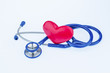 heart and stethoscope - 189454446