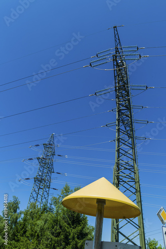 gas line and power line - 189454418