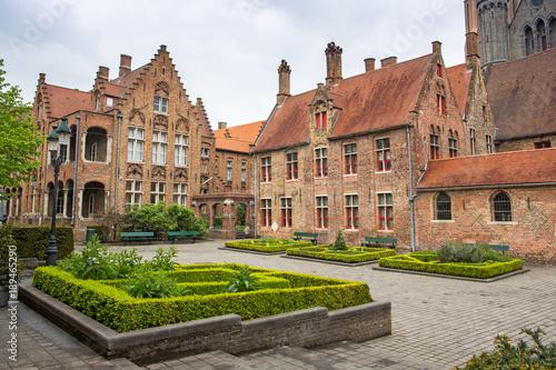 Fotobehang Brugge Bruges Brugge cityscape, Flanders, Belgium