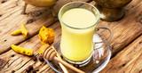 Turmeric Golden milk - 189471217
