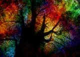 Vivid Abstract Tree - 189476628