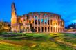 Quadro Rome, Coliseum. Italy.