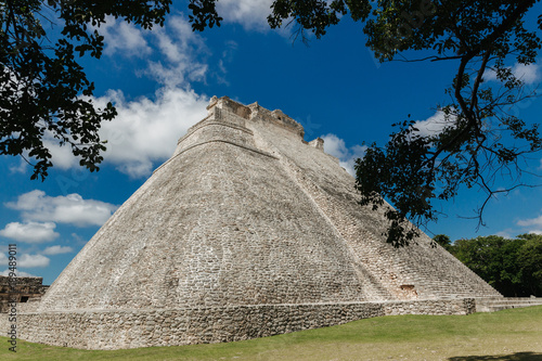 Uxmal archeological site Mexico