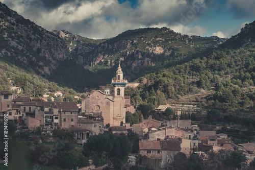 In de dag Cappuccino Valldemossa Mallorca