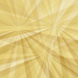 Gold geometric greeting card, banner, pattern. Vector luxury background