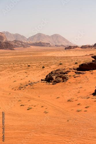 Foto op Aluminium Oranje eclat giordania