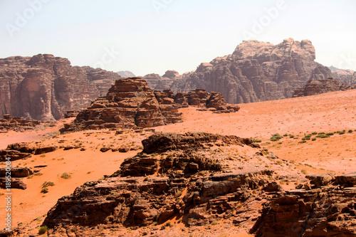 In de dag Oranje eclat giordania